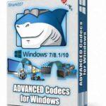 Advanced Codecs for Windows 7-8.1-10 İndir – Full 10 v14.8.4