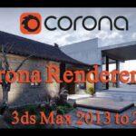 Corona Renderer for 3ds Max 2013-2019 İndir – Full v3.2