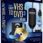 Roxio Easy VHS to DVD 3 Plus İndir – Full v3.0.1.36