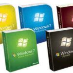 Windows 7 Tüm Sürümler İndir SP1 TEK DVD Türkçe Güncell 2020