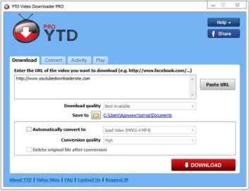 YTD Video İndirici Pro