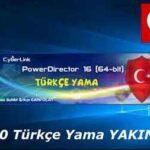 CyberLink PowerDirector Türkçe Yama İndir -v16 (x64)